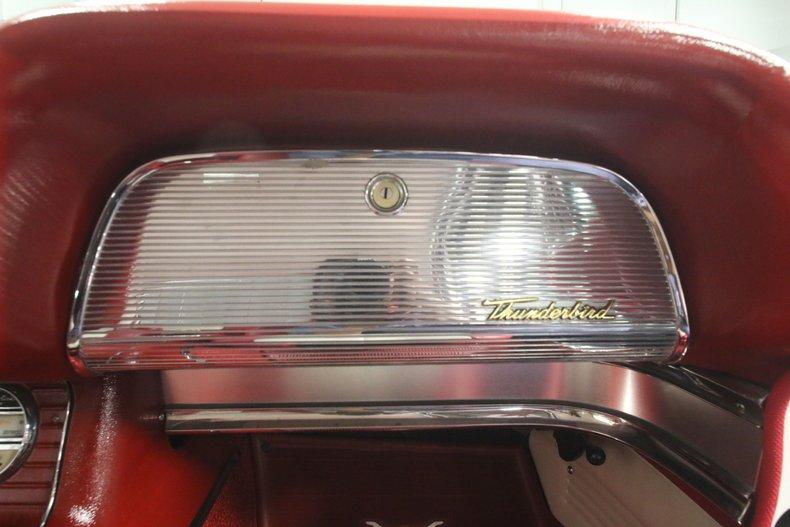1960 Ford Thunderbird 57