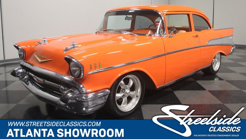 Bel Air Car >> 1957 Chevrolet Bel Air Streetside Classics The Nation S Trusted