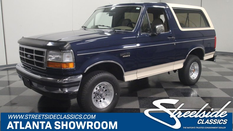 For Sale: 1992 Ford Bronco