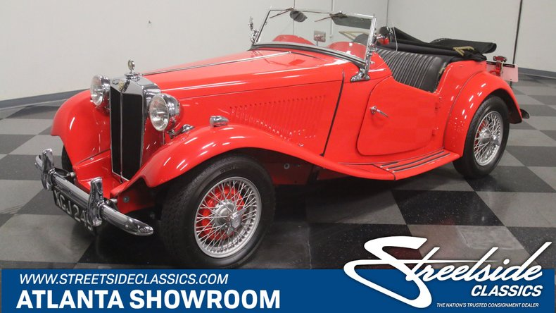 For Sale: 1950 MG TD