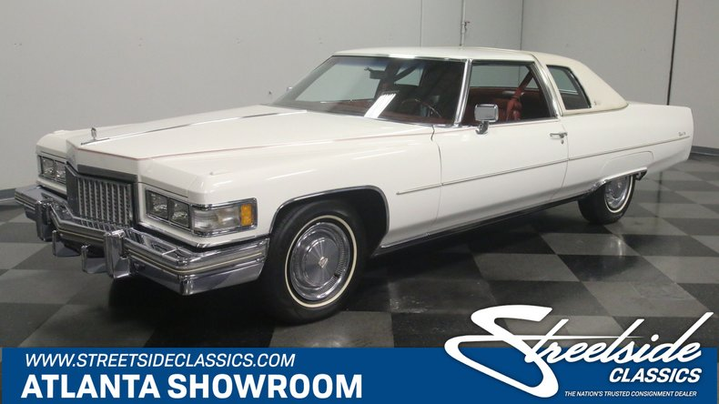 For Sale: 1975 Cadillac Coupe DeVille