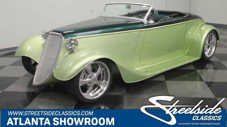 For Sale: 1933 Ford Roadster