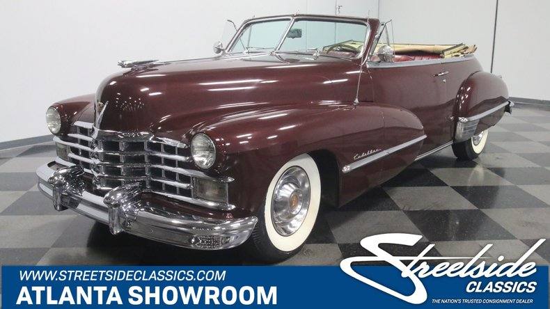 For Sale: 1947 Cadillac Series 62
