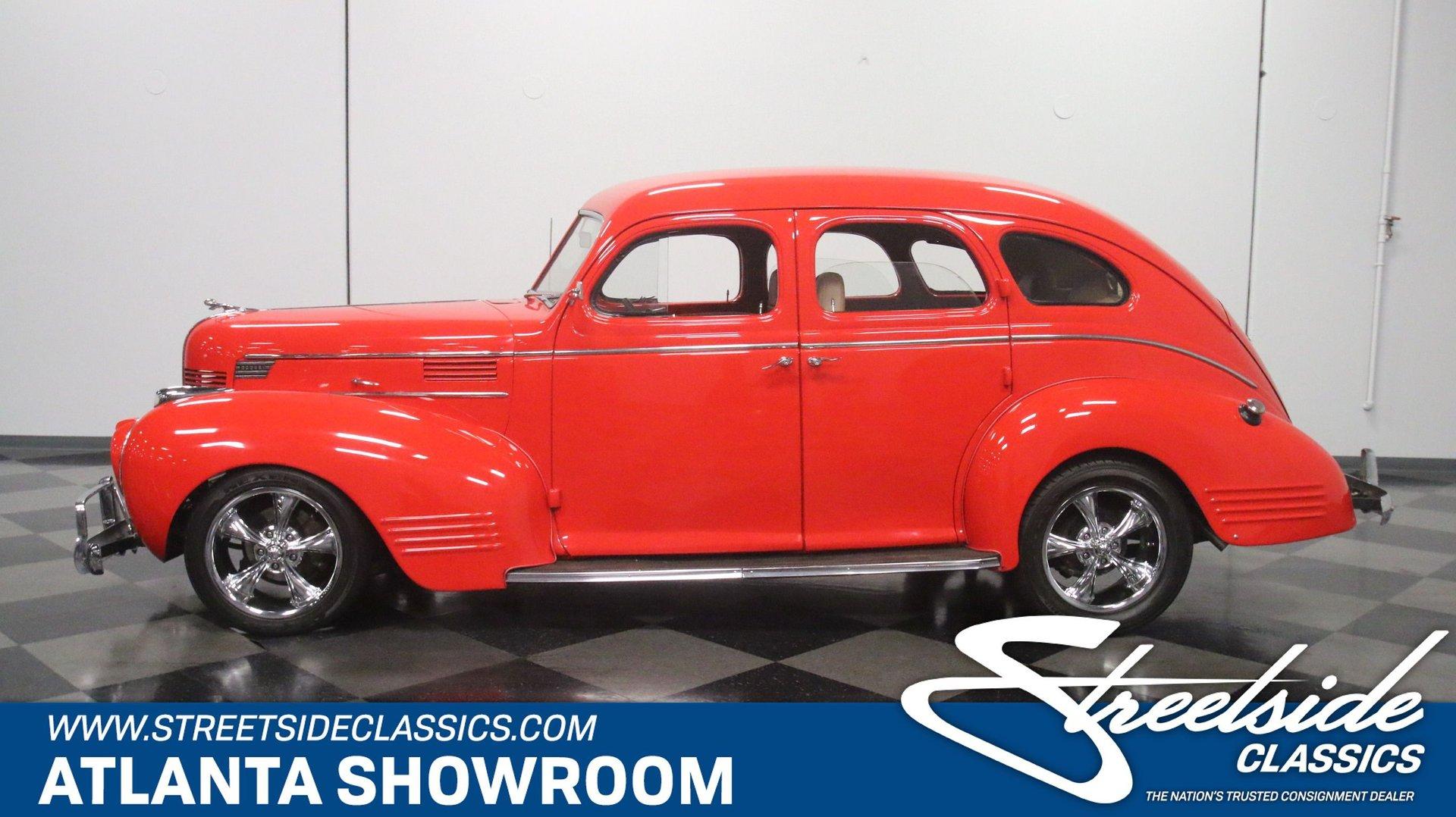 1939 dodge sedan streetrod