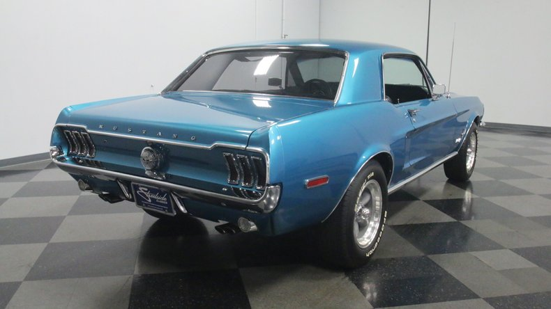 1968 Ford Mustang 13