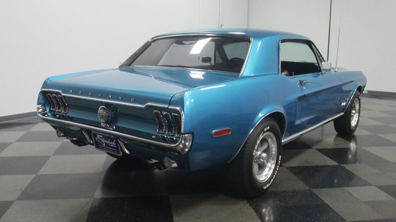 1968 Ford Mustang 27