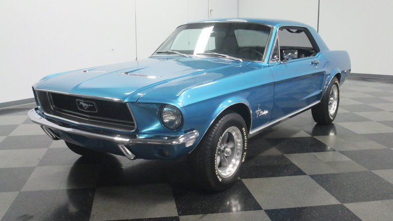 1968 Ford Mustang 21