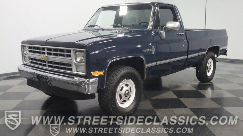 For Sale: 1987 Chevrolet K-20
