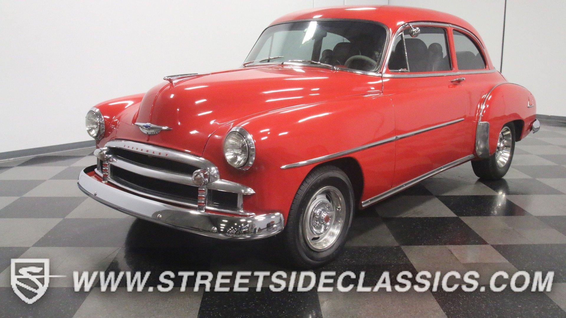 1950 chevrolet stylemaster 2 door coupe