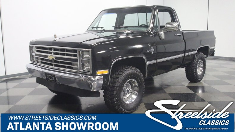 For Sale: 1987 Chevrolet K-10