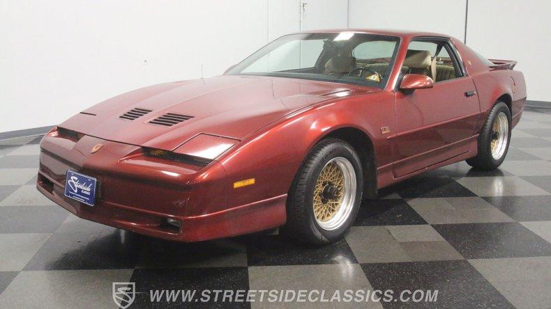 For Sale: 1987 Pontiac Firebird