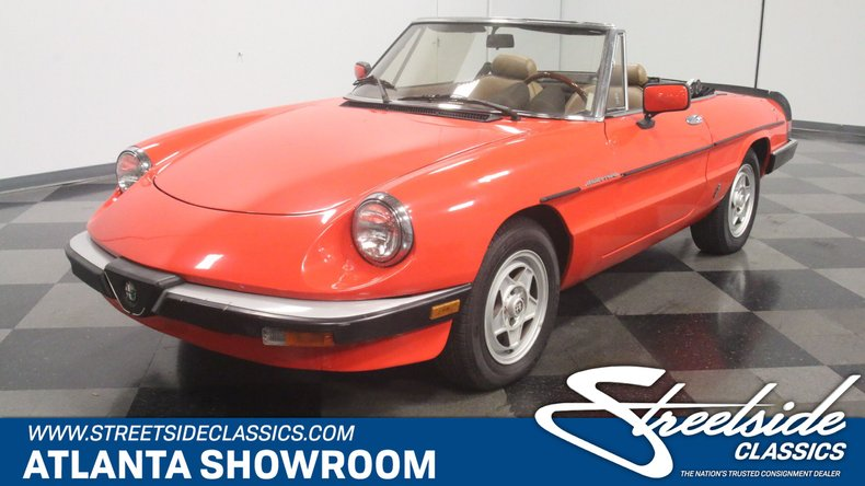 For Sale: 1984 Alfa Romeo Spider Veloce