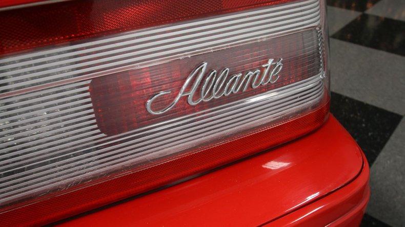 1992 Cadillac Allante 70