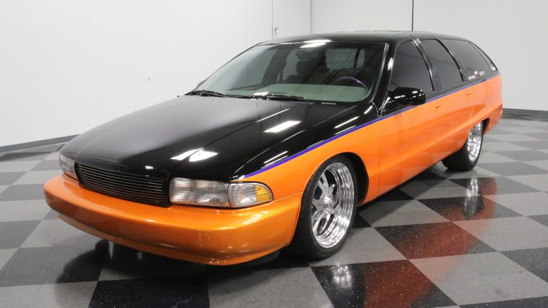 1992 Chevrolet Caprice Custom Wagon For Sale | AllCollectorCars com