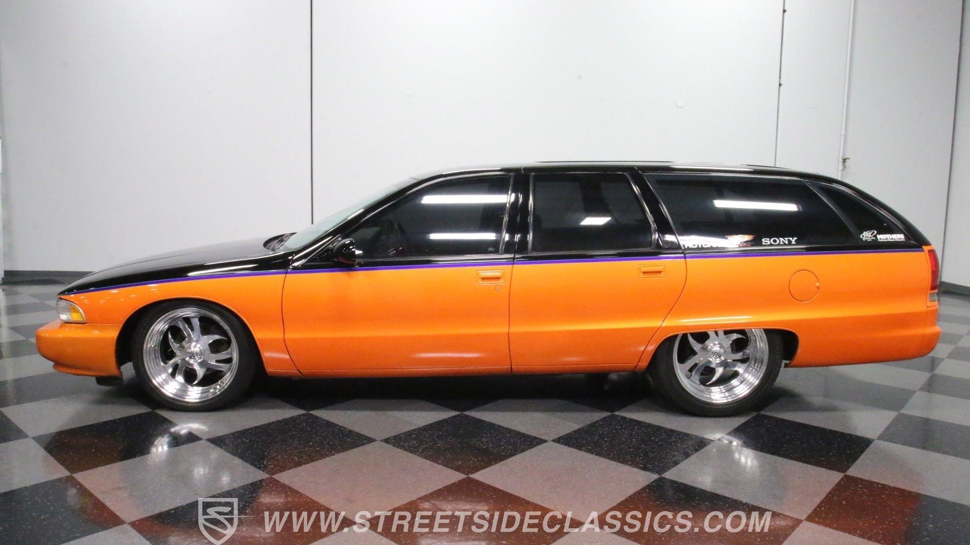1992 chevrolet caprice custom wagon