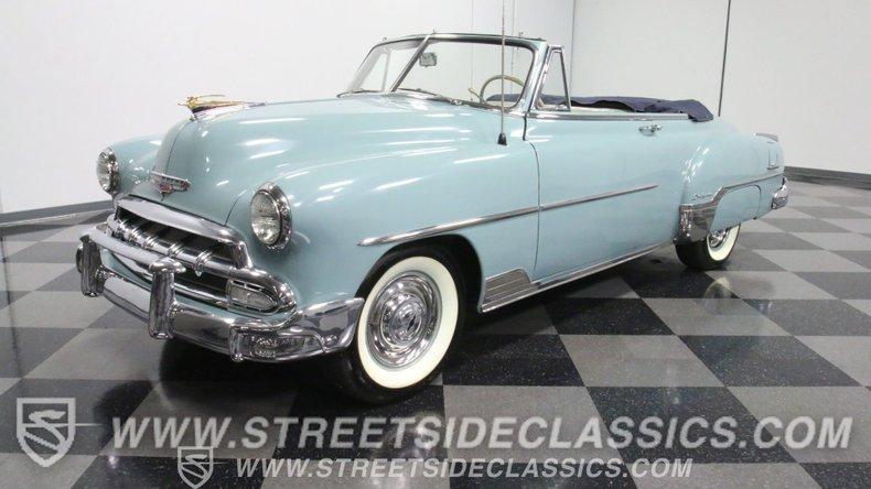 For Sale: 1952 Chevrolet Bel Air