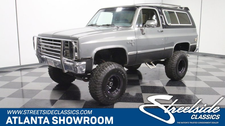 1986 chevrolet blazer streetside classics the nation s trusted classic car consignment dealer 1986 chevrolet blazer streetside