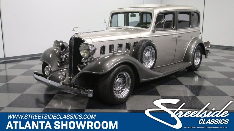 For Sale: 1933 Buick Series 57