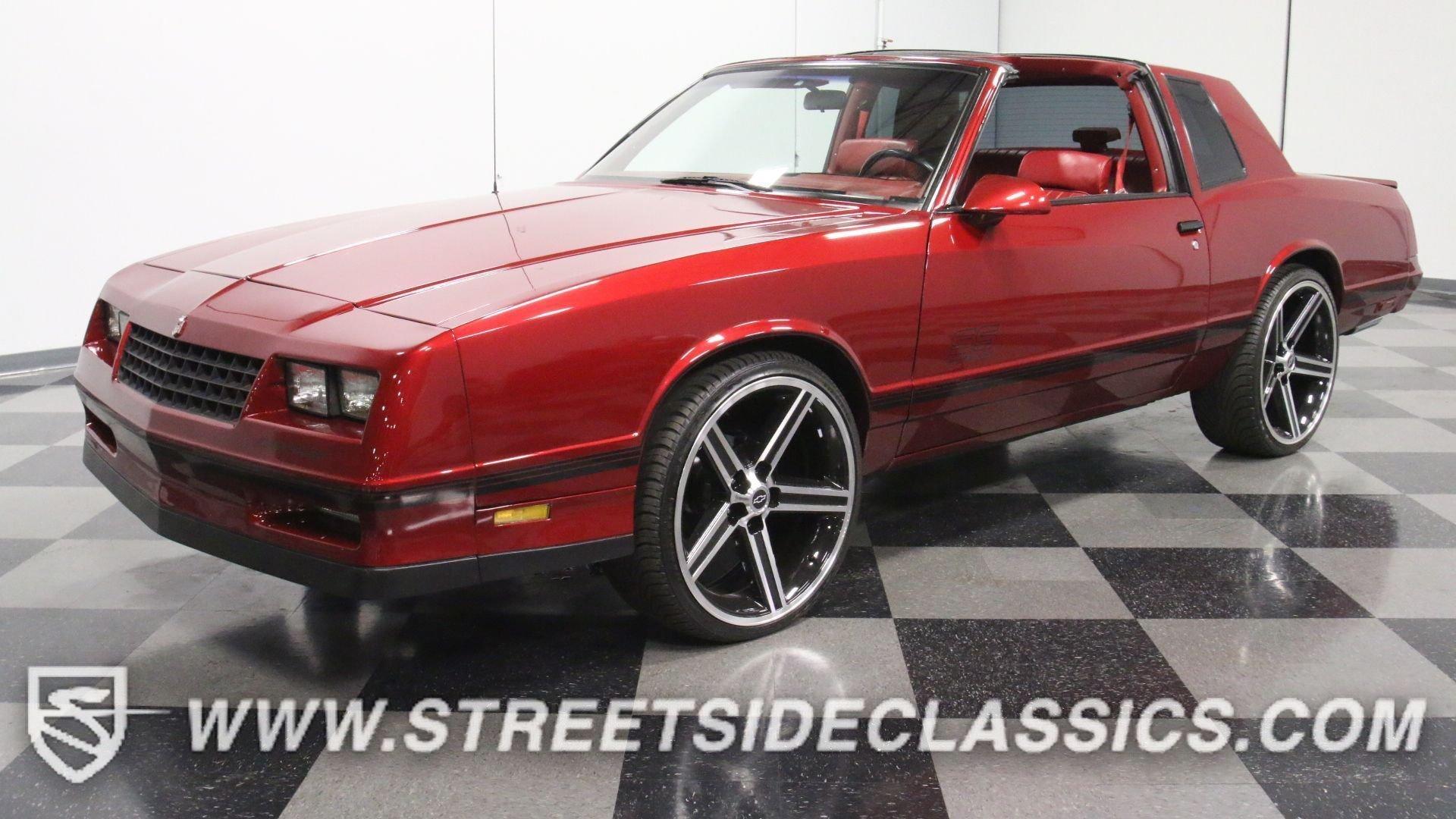Ss Monte Carlo >> 1988 Chevrolet Monte Carlo Streetside Classics The Nation S