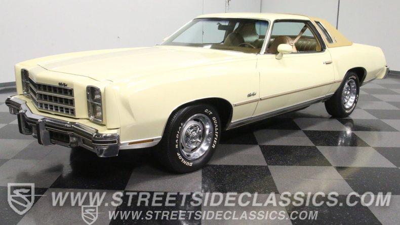For Sale: 1976 Chevrolet Monte Carlo