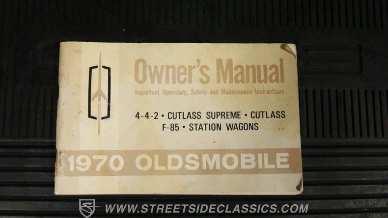 1970 Oldsmobile 442 66
