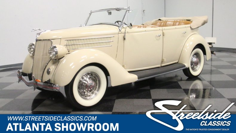 For Sale: 1936 Ford Phaeton