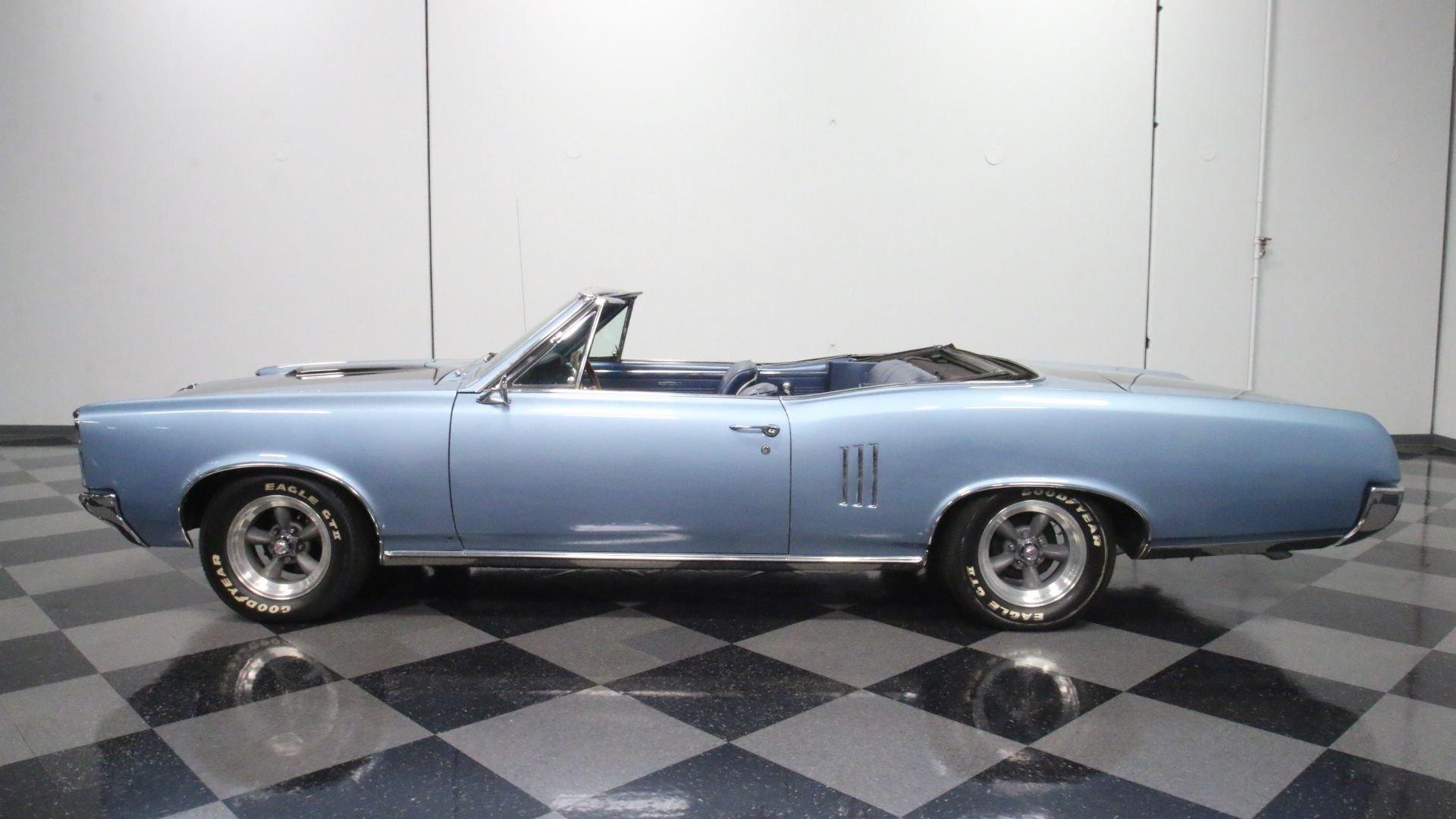 1967 pontiac le mans convertible