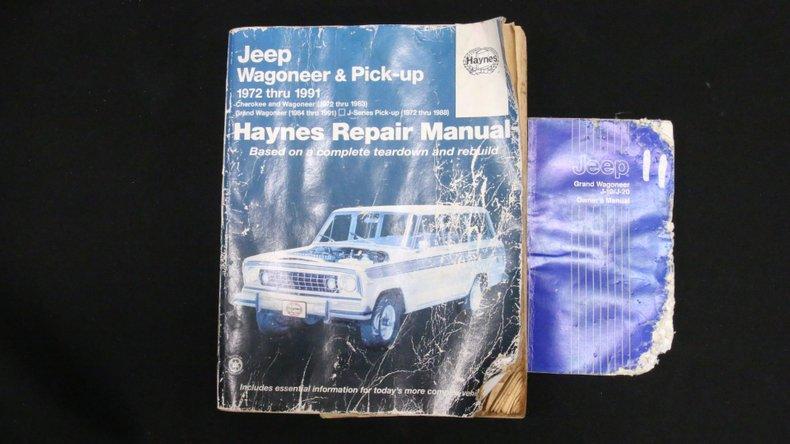 1987 Jeep Grand Wagoneer 71