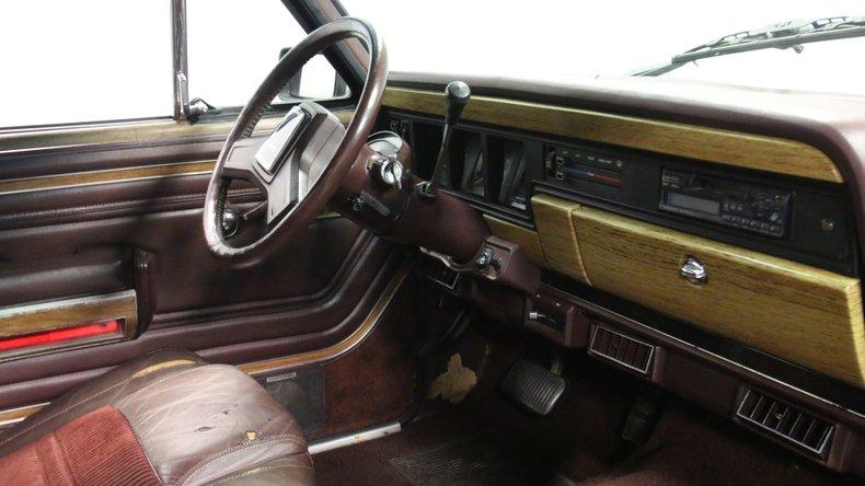 1987 Jeep Grand Wagoneer 60