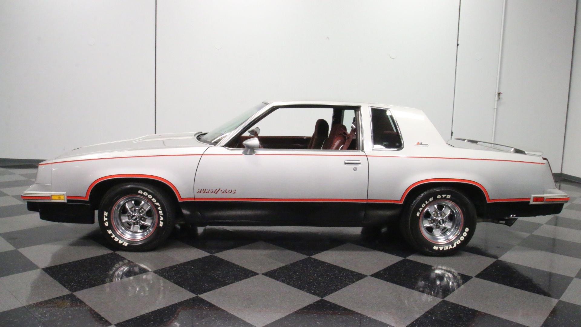 1984 oldsmobile 442 hurst olds cutlass