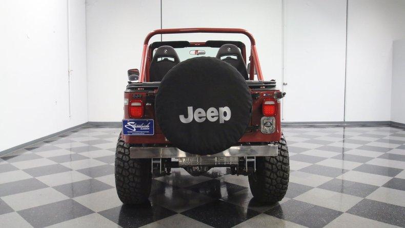 1985 Jeep CJ7 11