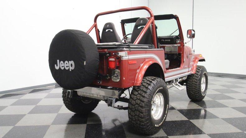 1985 Jeep CJ7 13