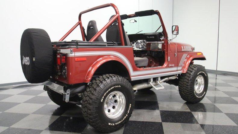 1985 Jeep CJ7 14
