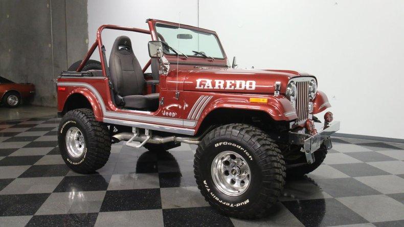 1985 Jeep CJ7 16