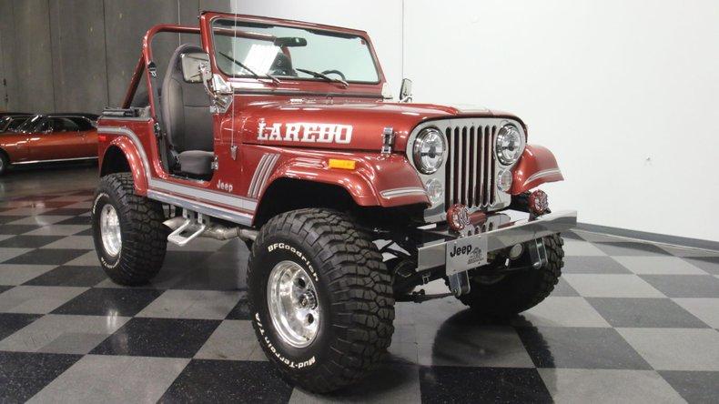 1985 Jeep CJ7 17