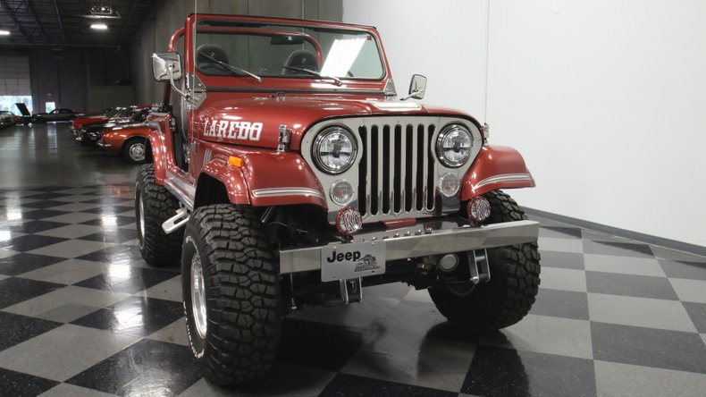 1985 Jeep CJ7 18
