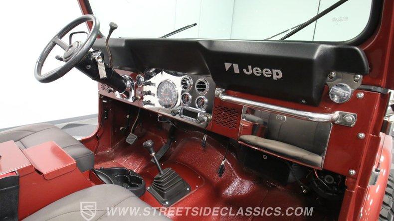 1985 Jeep CJ7 53