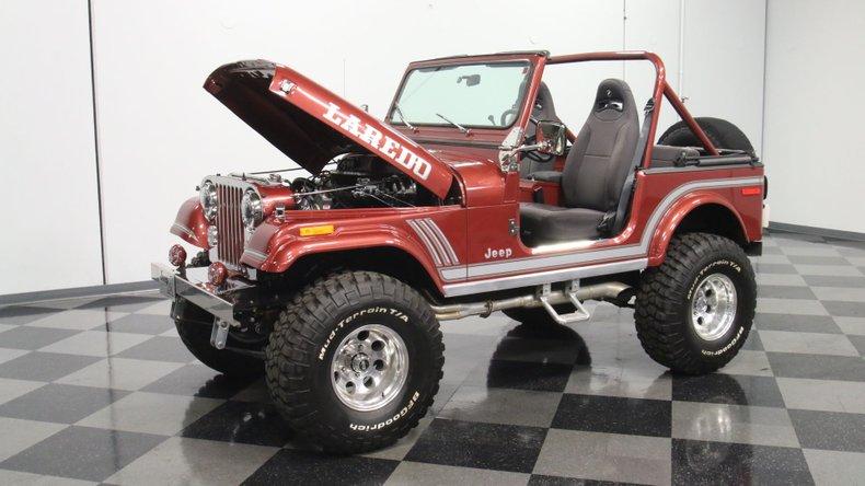 1985 Jeep CJ7 34
