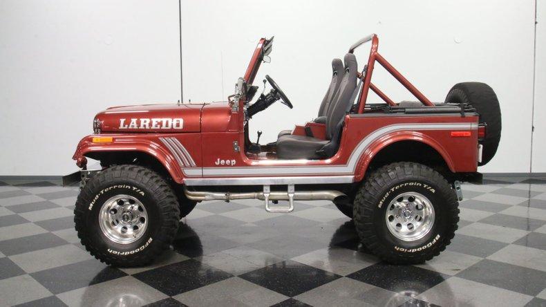 1985 Jeep CJ7 7