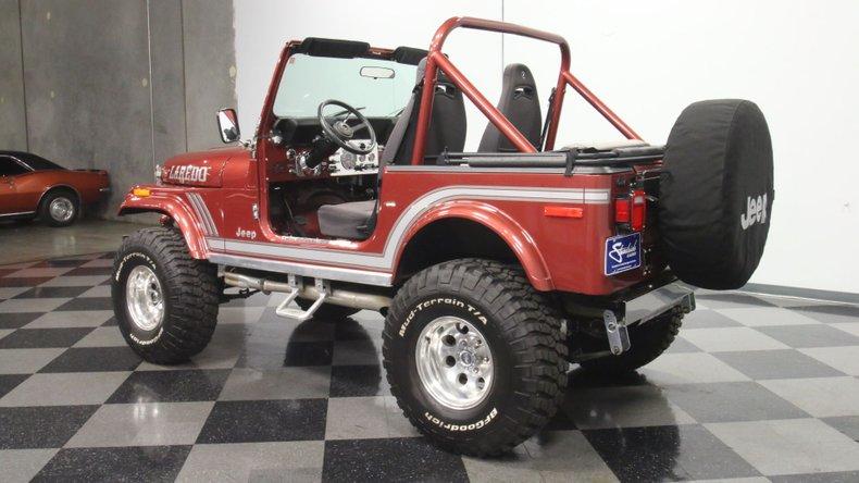 1985 Jeep CJ7 8