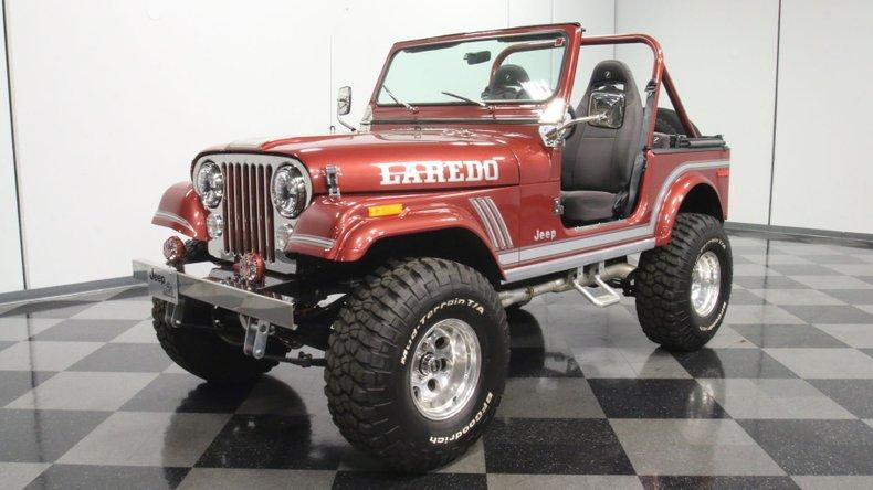1985 Jeep CJ7 21