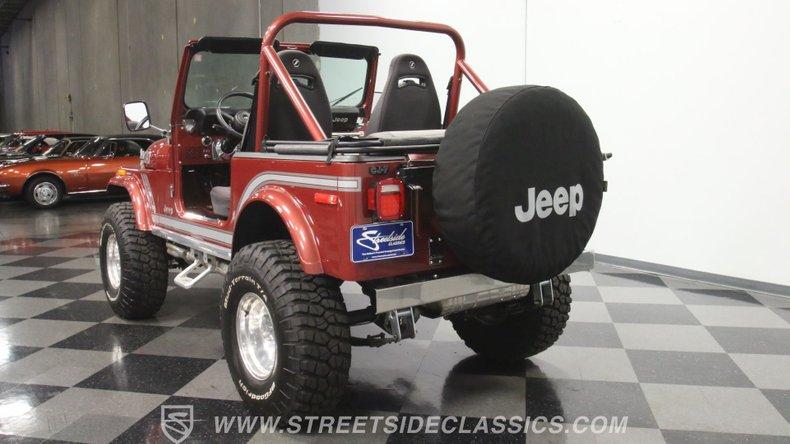 1985 Jeep CJ7 9
