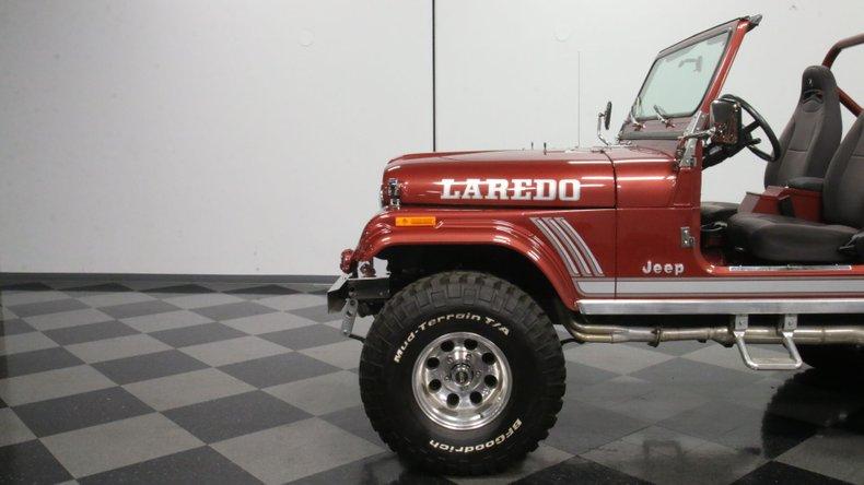 1985 Jeep CJ7 24