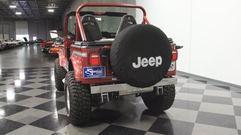 1985 Jeep CJ7 10