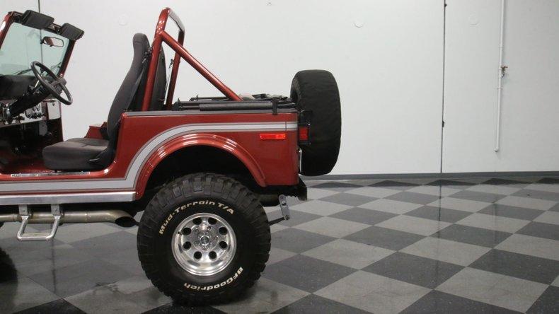 1985 Jeep CJ7 25