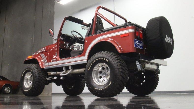 1985 Jeep CJ7 26