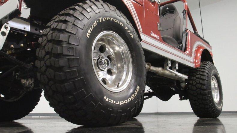 1985 Jeep CJ7 23