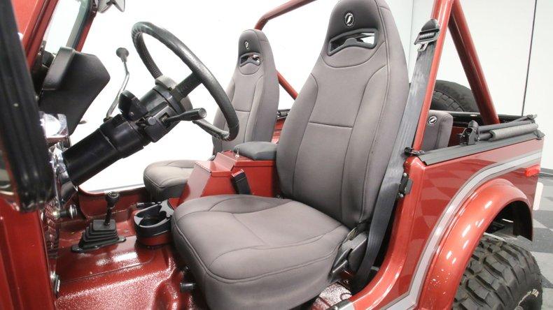 1985 Jeep CJ7 47