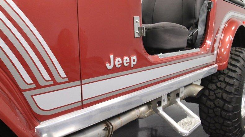 1985 Jeep CJ7 62