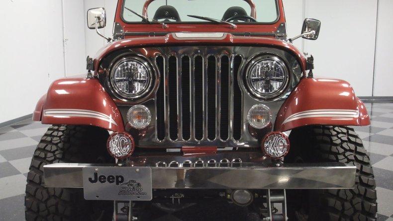 1985 Jeep CJ7 64